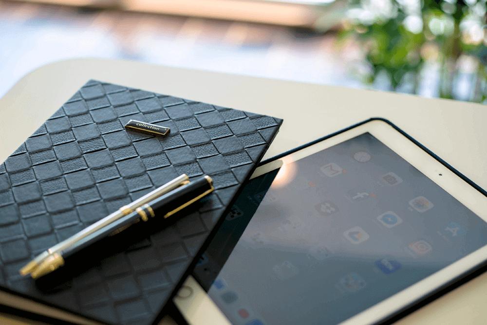手帳とiPad