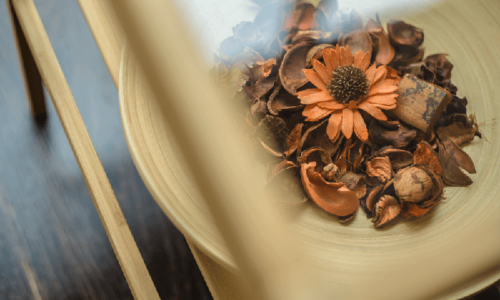 MOOVスタジオ花のオブジェ